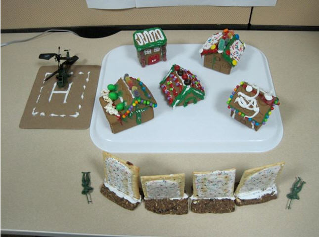 PFMAG Gingerbread Village High