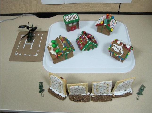 PFMAG Gingerbread Village High