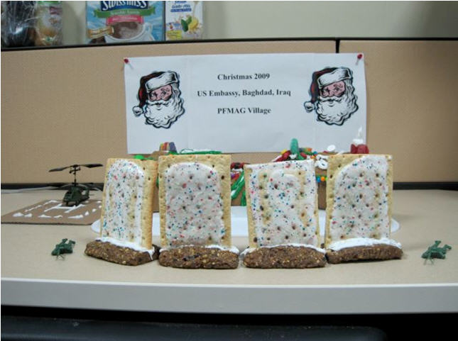 PFMAG Gingerbread Village Low Shot